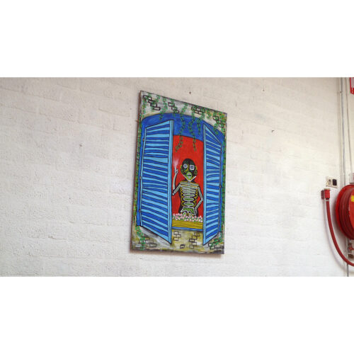FRENCH WINDOW SMOKER 01 - Frank Willems