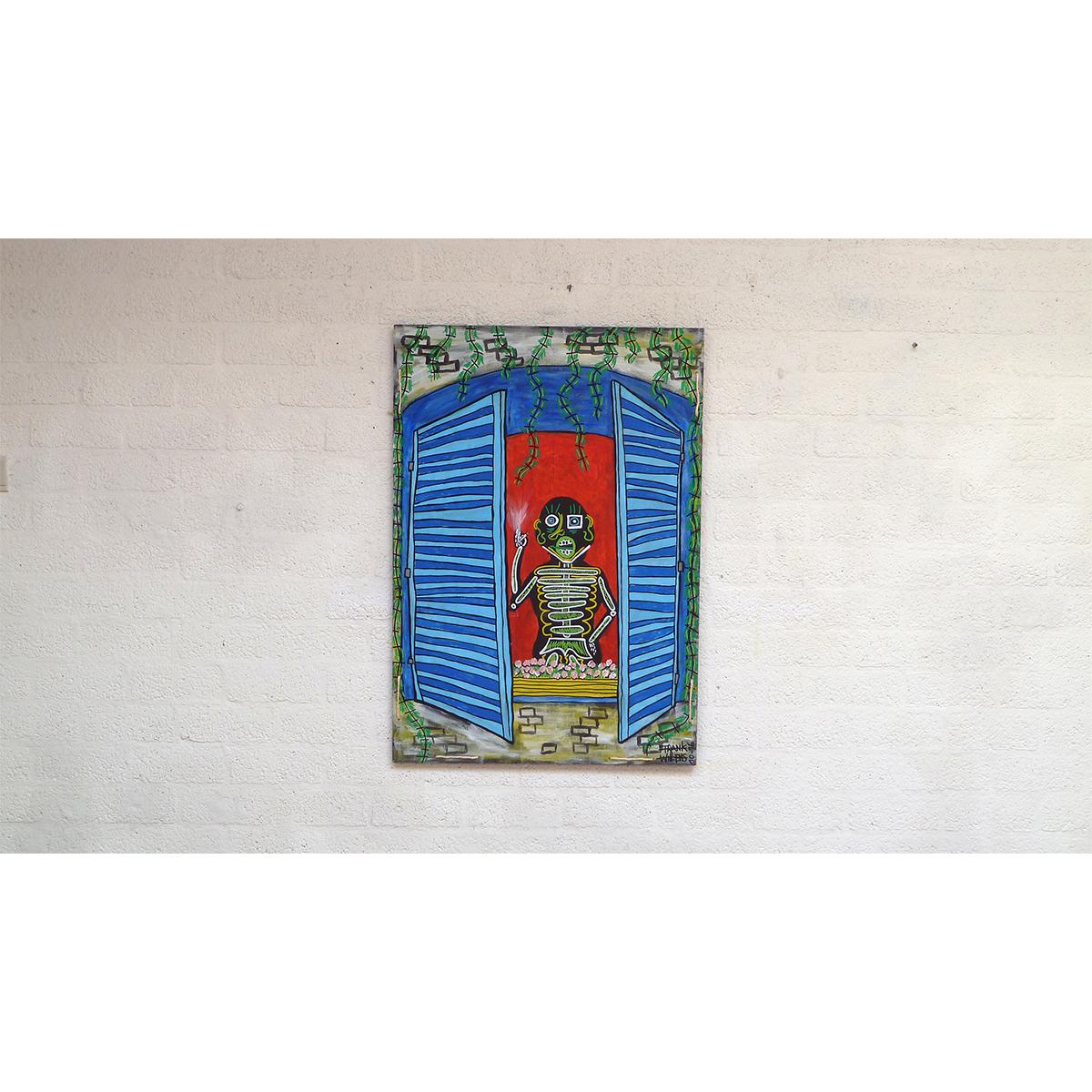 FRENCH WINDOW SMOKER 02 - Frank Willems