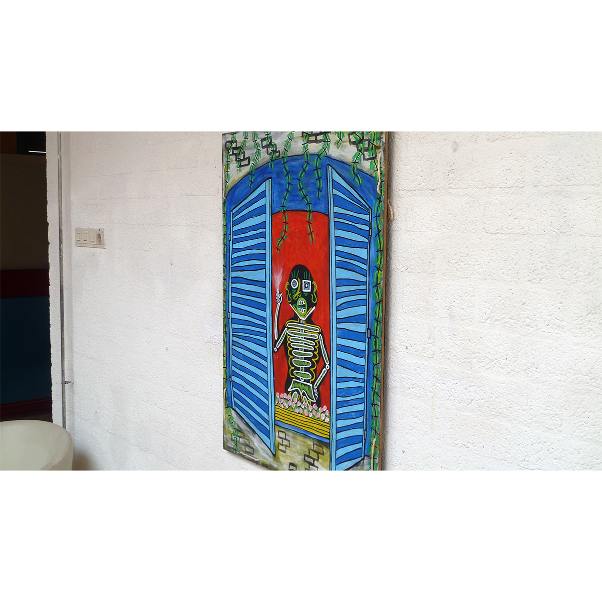 FRENCH WINDOW SMOKER 03 - Frank Willems
