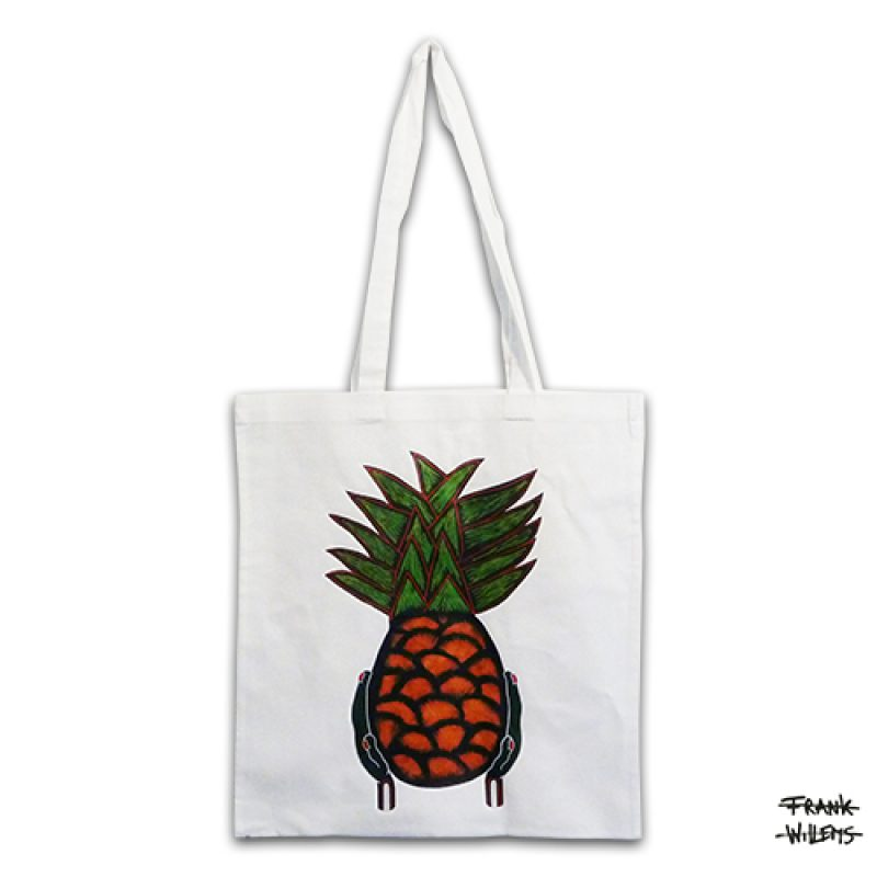 KATOENEN TAS - YUMMY PINEAPPLE - Frank Willems