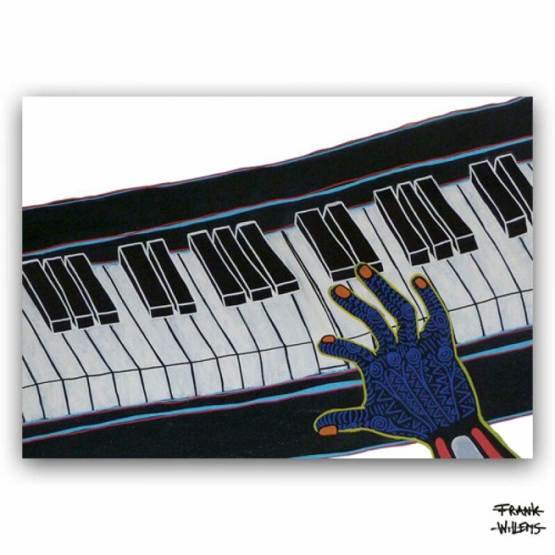 ART CARD ///  ONE PRESS CLOSER TO MUSIC
