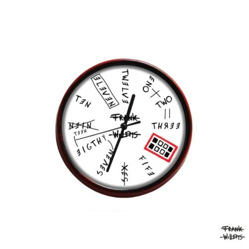 Clock - NINETEENEIGHTYSEVEN - SMALL - Frank Willems