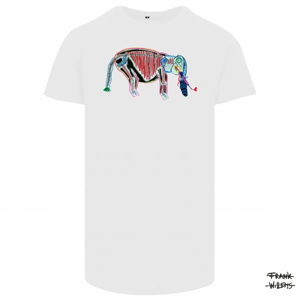 T-shirt HAVE YOU SEEN MY IVORY wht 17 - Frank Willems