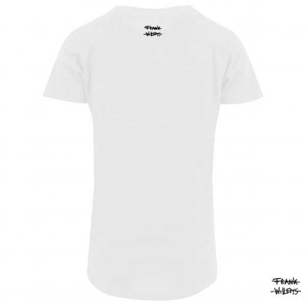 T-shirt back wht 17 - Frank Willems