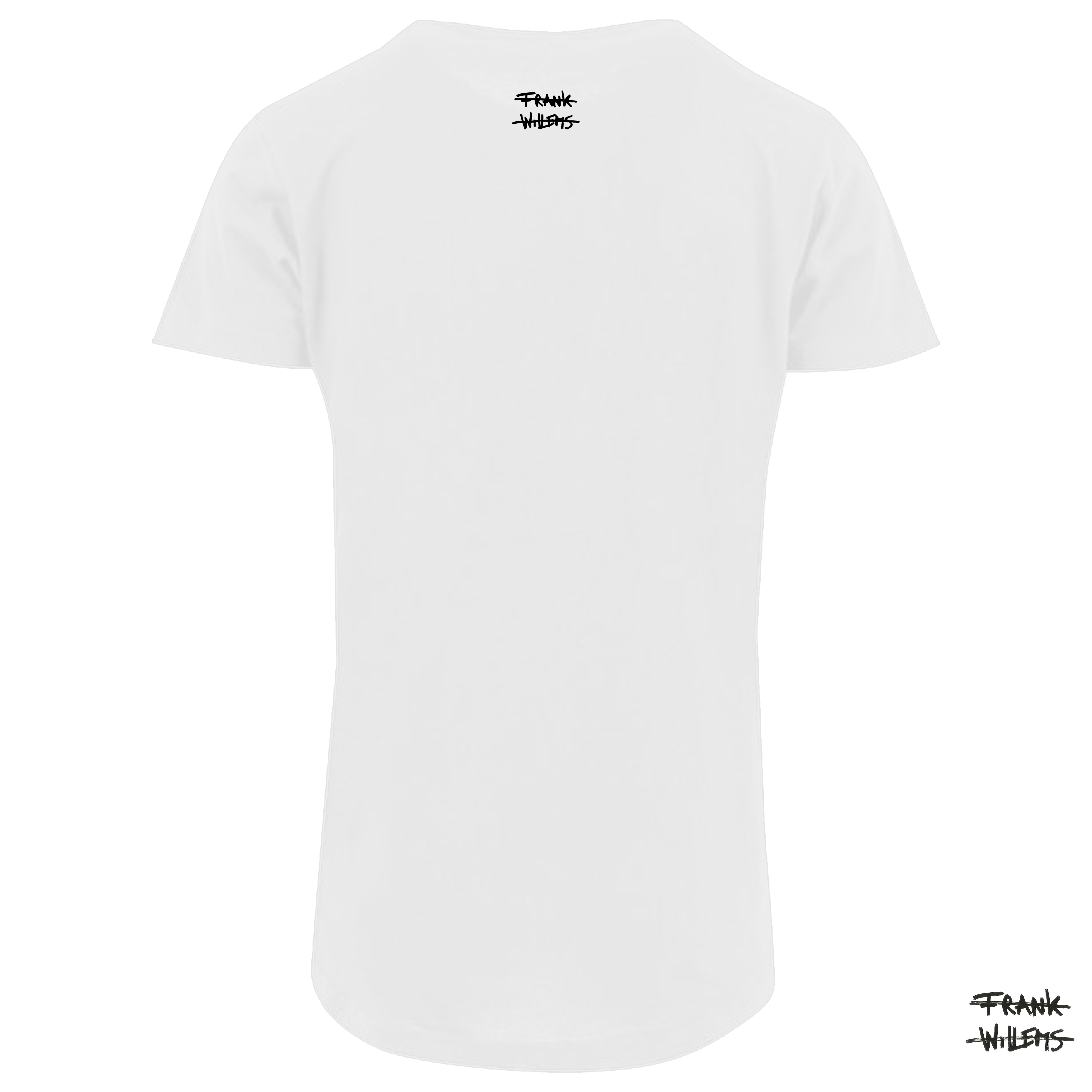 T-shirt back wht 17 - Frank Willems
