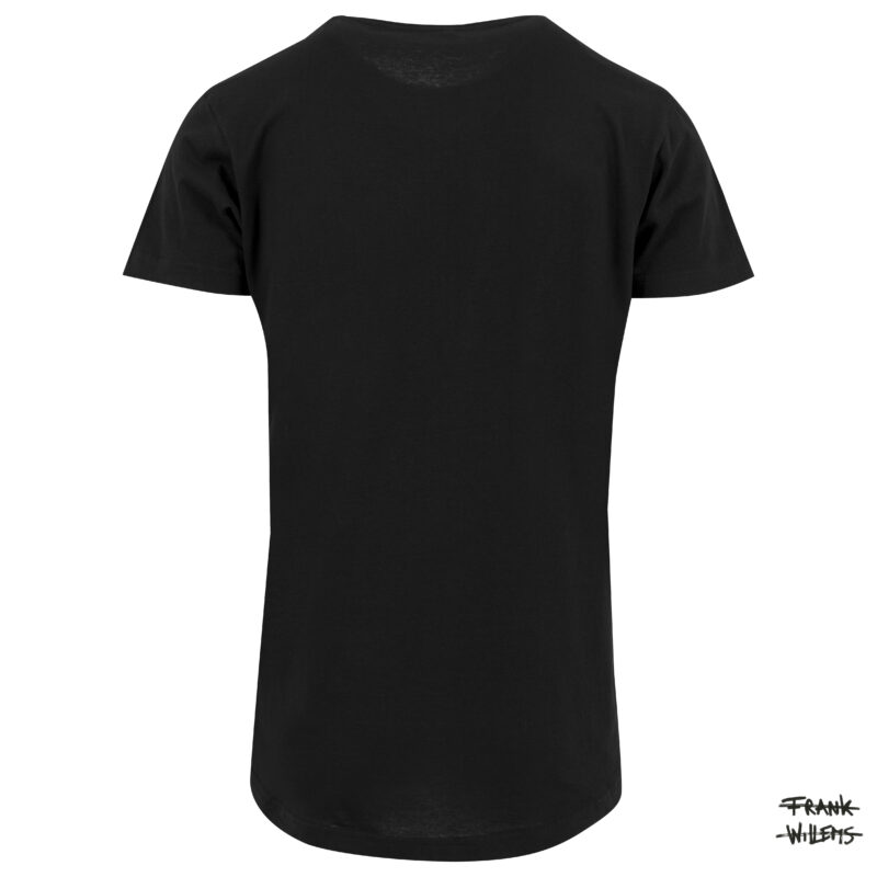 tshirt back blk - Frank Willems