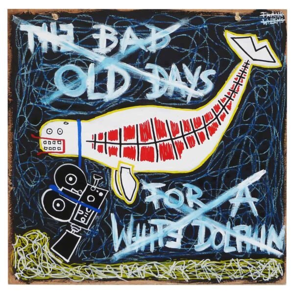 THE BAD OLD DAYS OF A WHITE DOLPHIN - Frank Willems