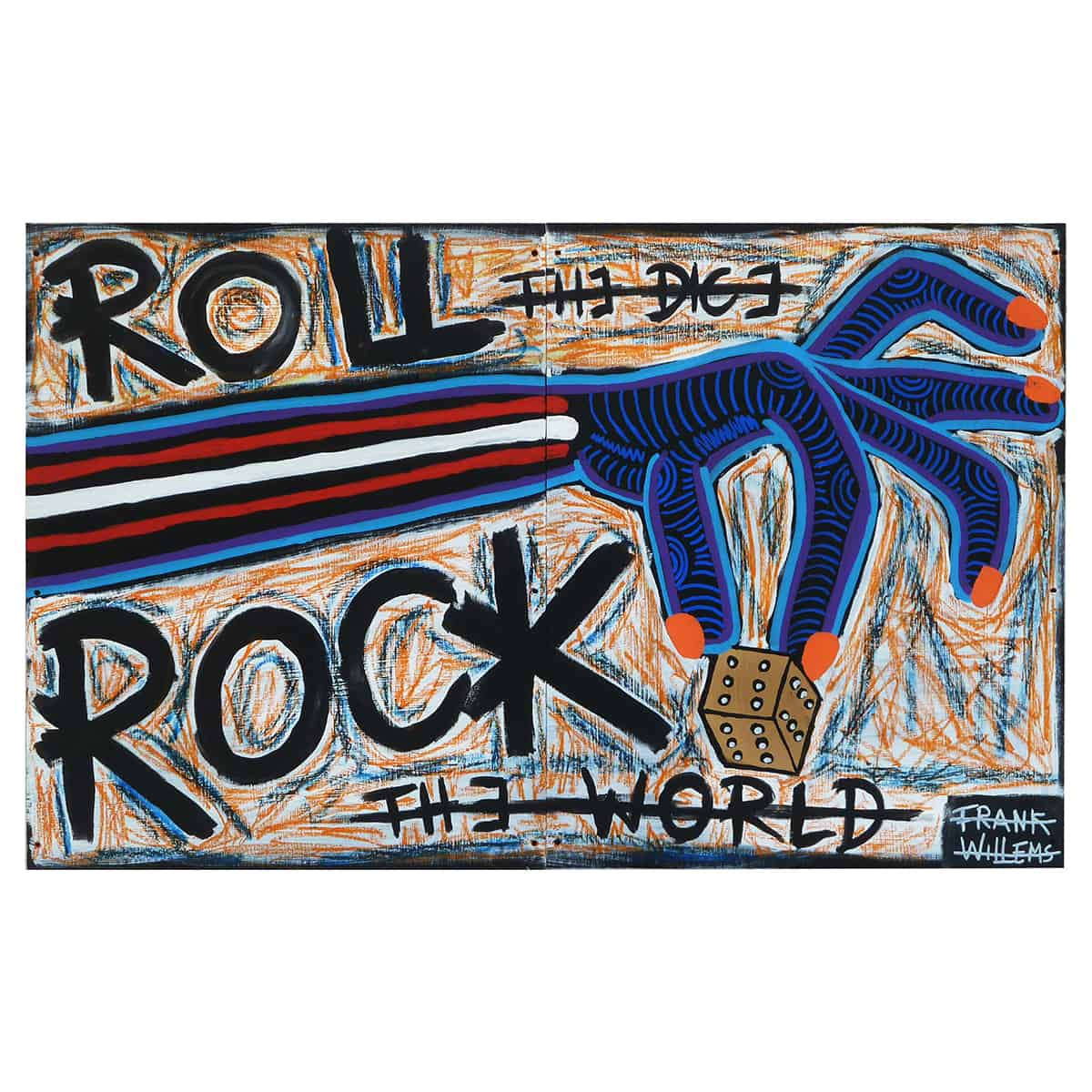 ROLL AND ROCK - Frank Willems