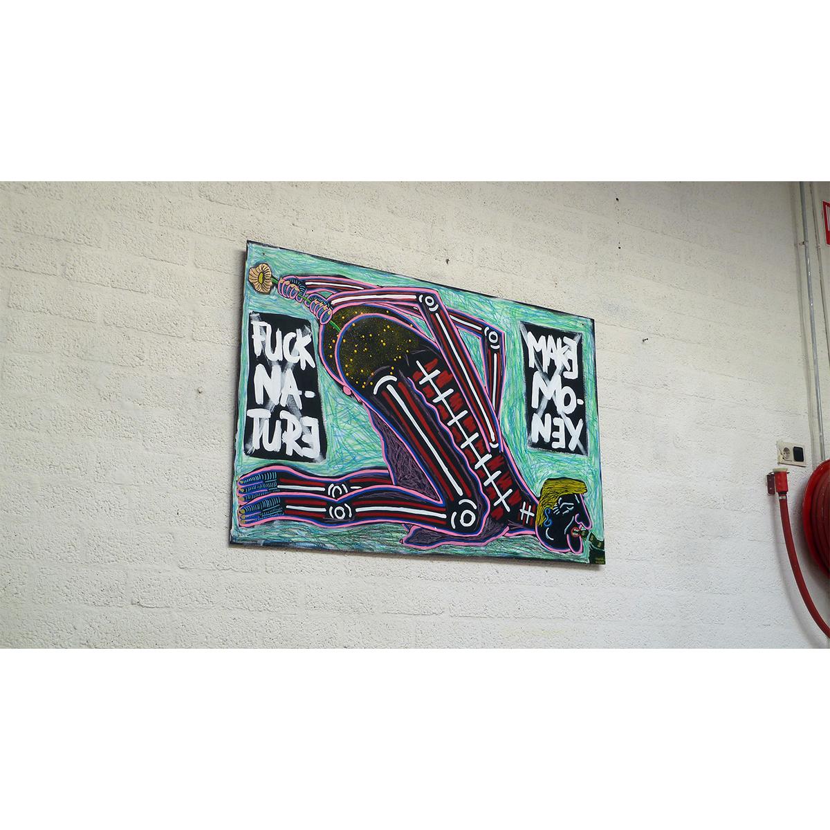 FUCK NATURE, MAKE MONEY 01 - Frank Willems