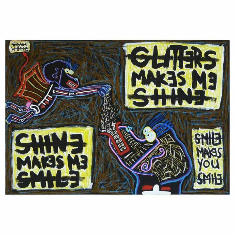 GLITTER AND SHINE