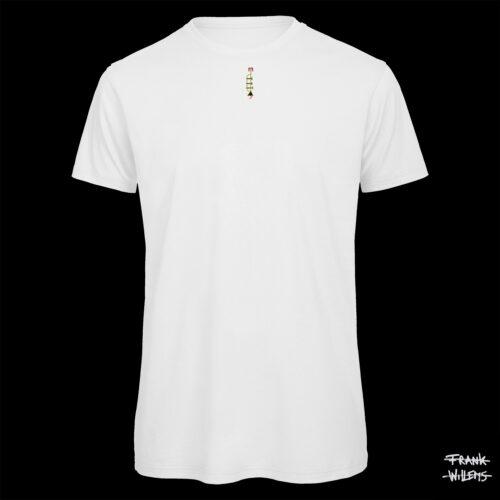 T-shirt - THE TRUMPET - Men - WHT - Frank Willems