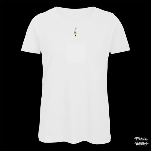 T-shirt - THE TRUMPET - Woman - WHT - Frank Willems