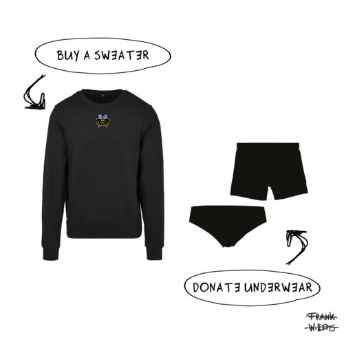 ONE AND ONE MAKES TWO - sweater underwear - Frank Willems