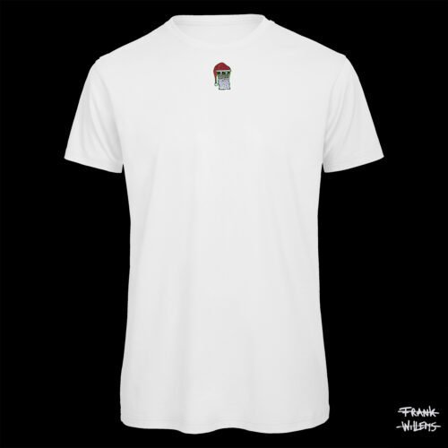 T-shirt - SANTA CLAUS - Men - WHT - Frank Willems