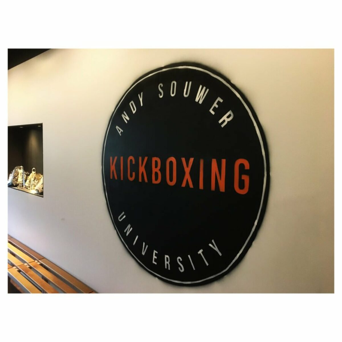 ANDY SOUWER KICKBOXING UNIVERSITY 01 - Mural - Frank Willems