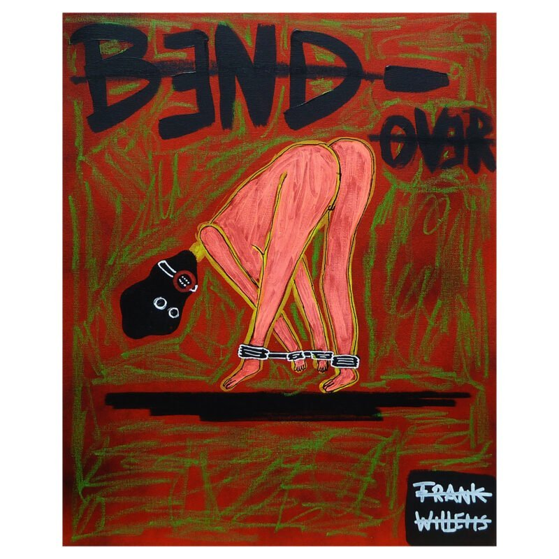 BDSM BEND OVER (licht) - Frank Willems