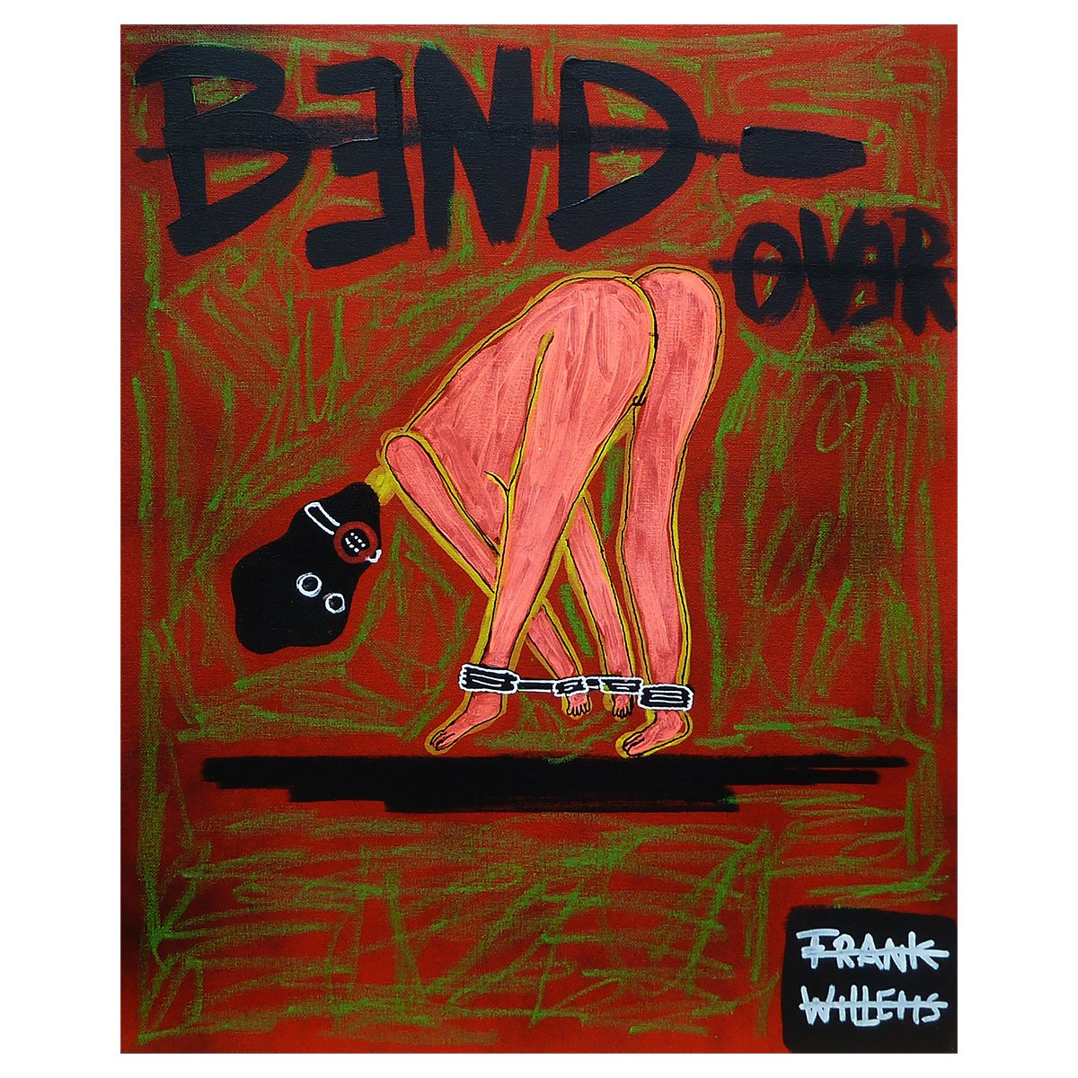 BDSM BEND OVER (licht) - Frank Willems