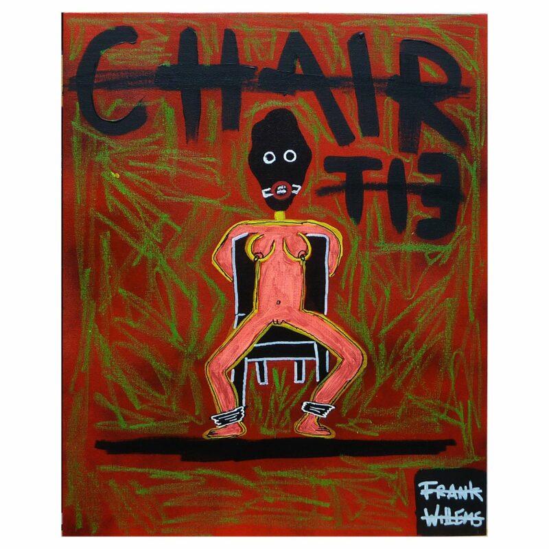 BDSM CHAIR TIE (licht) - Frank Willems