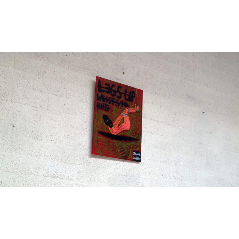 BDSM LEGS-UP WRIST TO KNEE 02 - Frank Willems