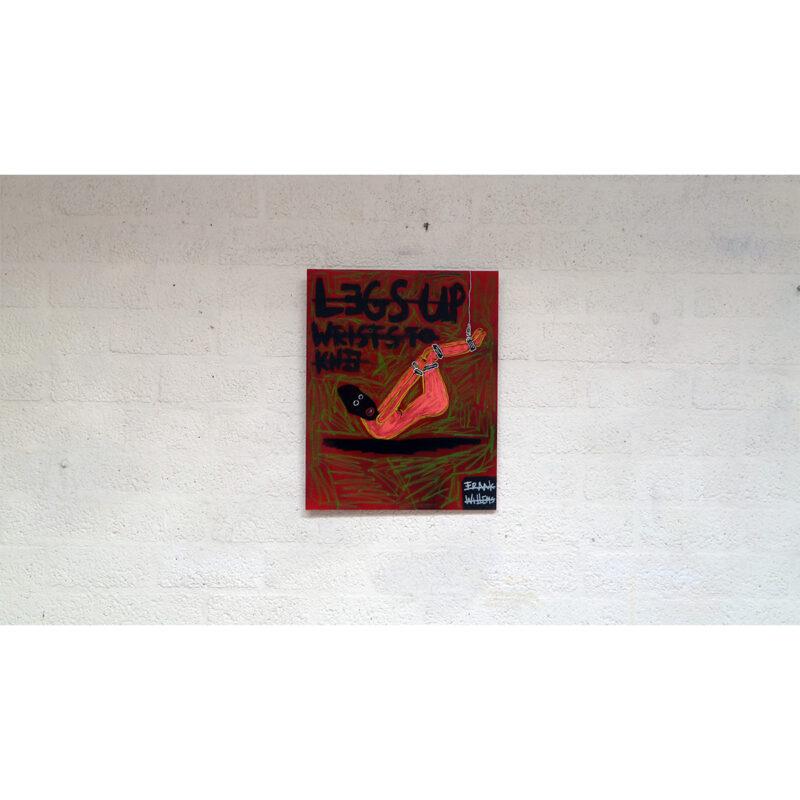 BDSM LEGS-UP WRIST TO KNEE 03 - Frank Willems