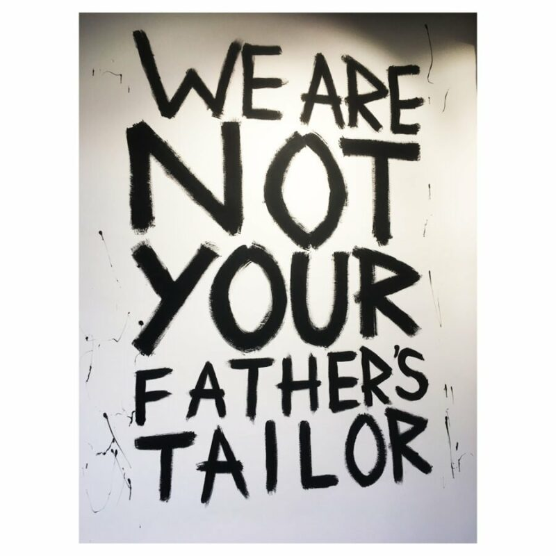 L'ATELIER - WE ARE NOT YOUR FATHER'S TAILOR