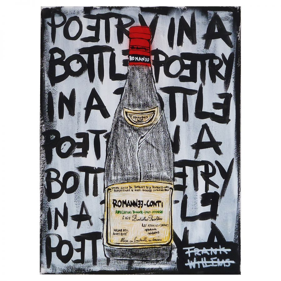ROMANEE-CONTI - POETRY IN A BOTTLE - Frank Willems