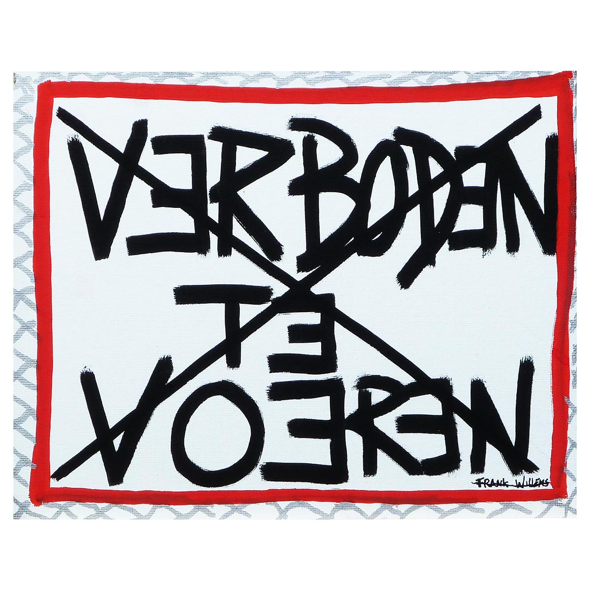 VERBODEN TE VOEREN - Frank Willems