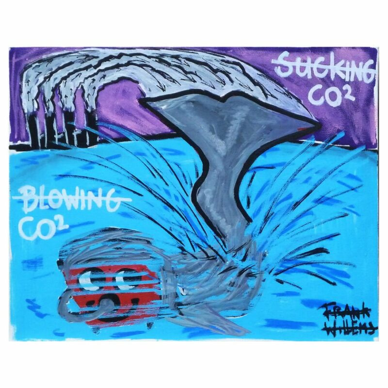 BLOWING / SUCKING CO2