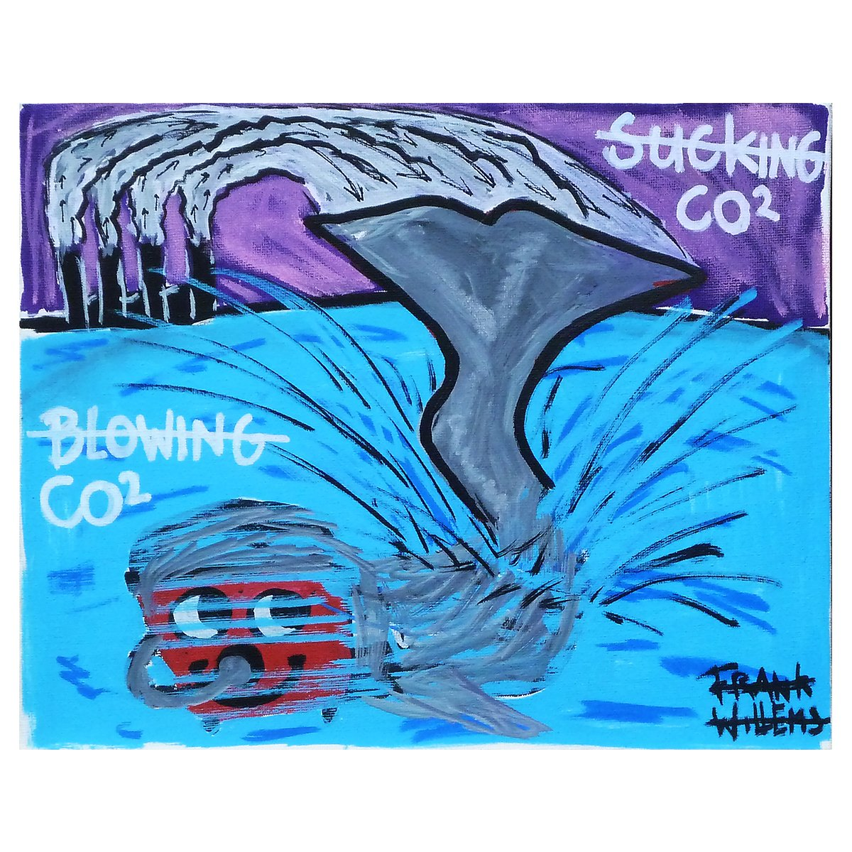 BLOWING - SUCKING CO2 - Frank Willems