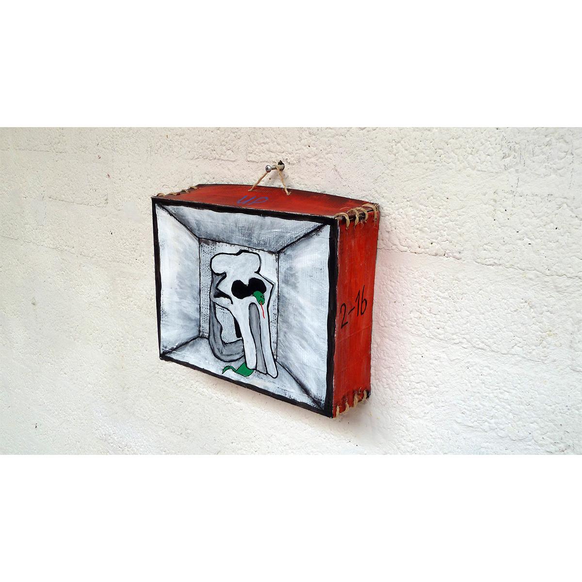 BOX (03) 'ELEPHANT SKULL' 03 - Frank Willems