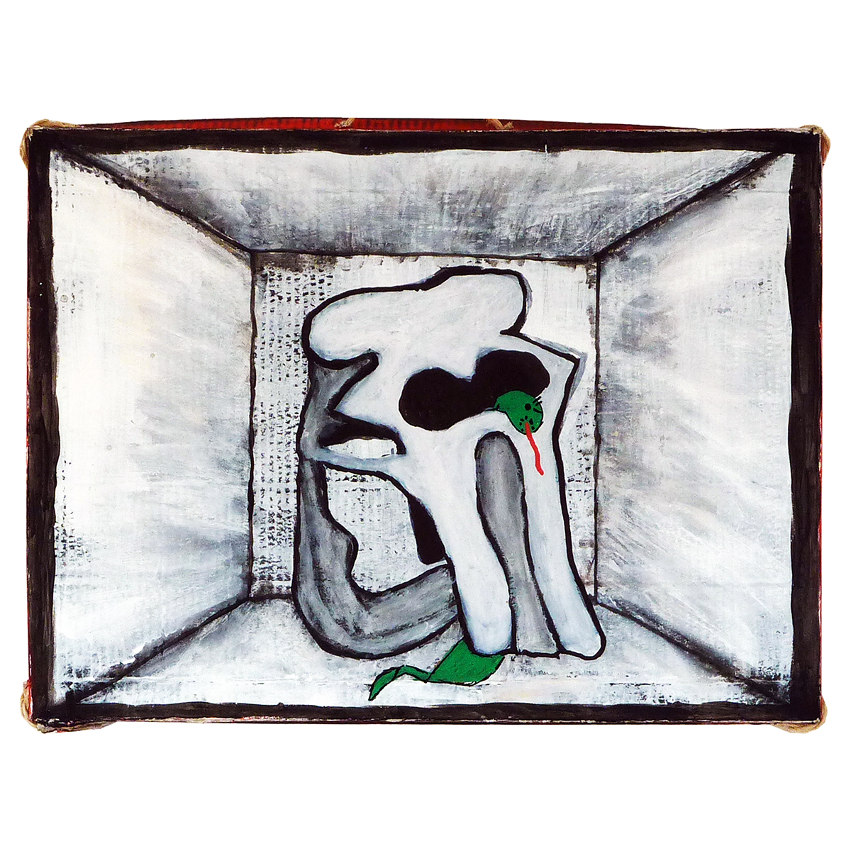 BOX (03) 'ELEPHANT SKULL' - Frank Willems