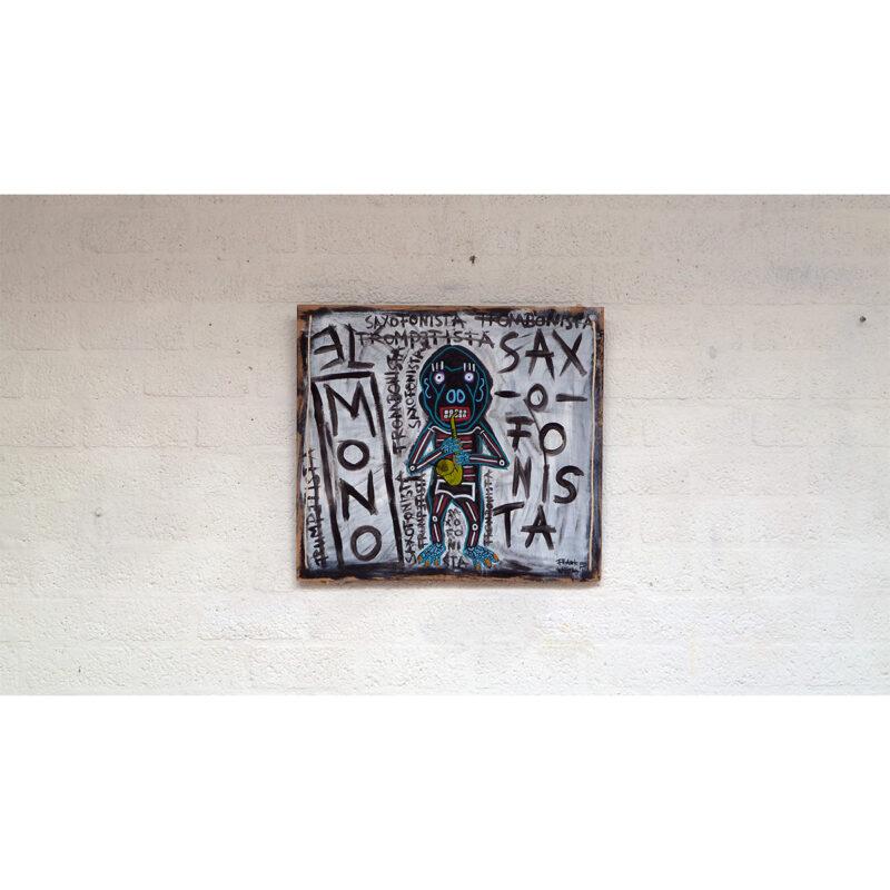 EL MONO SAXOFONISTA 02 - Frank Willems