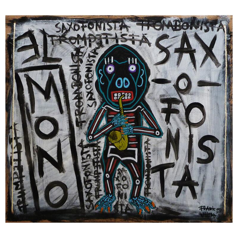 EL MONO SAXOFONISTA - Frank Willems