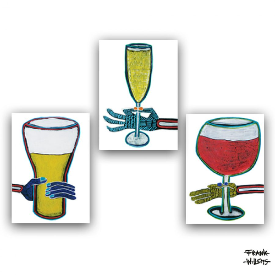 CHEERS - ART CARDS PACKAGE - Frank Willems