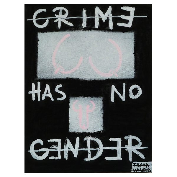 CRIME HAS NO GENDER - Frank Willems