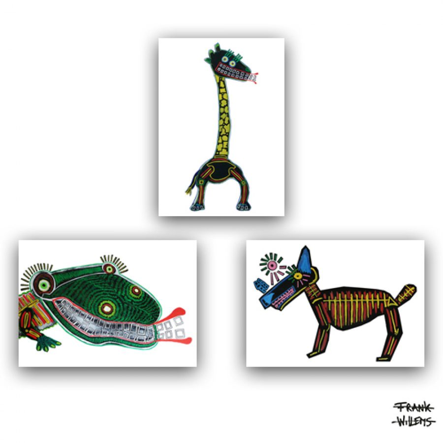 ANIMALS - ART CARDS PACKAGE - Frank Willems