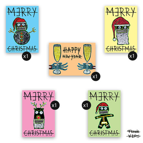 CHRISTMAS CARDS PACKAGE - Frank Willems