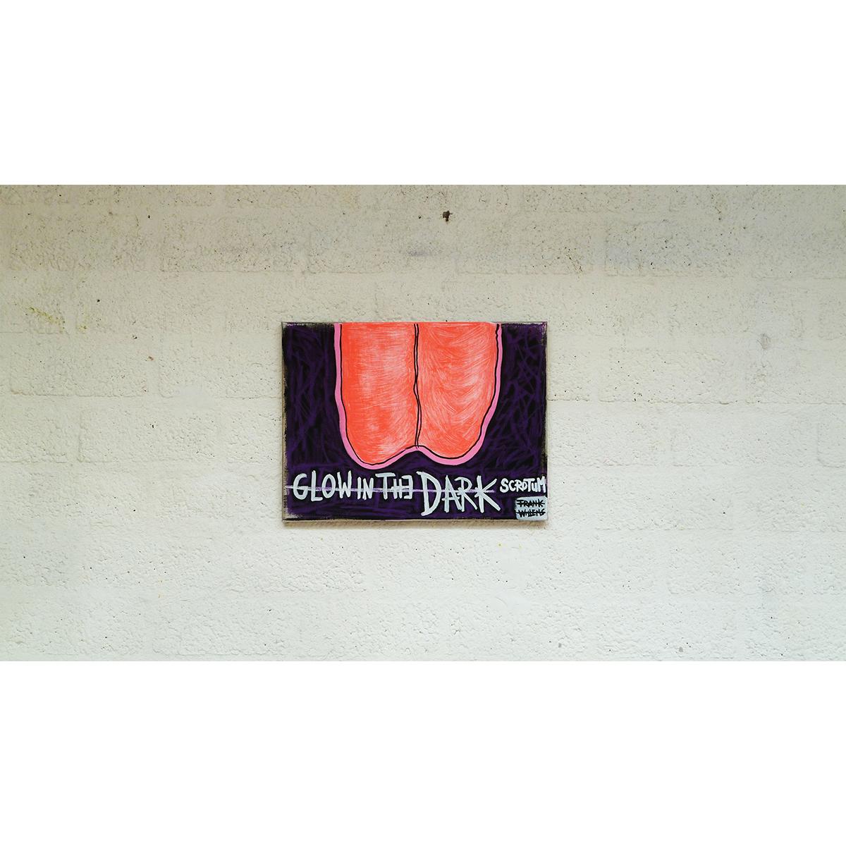 GLOW IN THE DARK SCROTUM 02 - Frank Willems