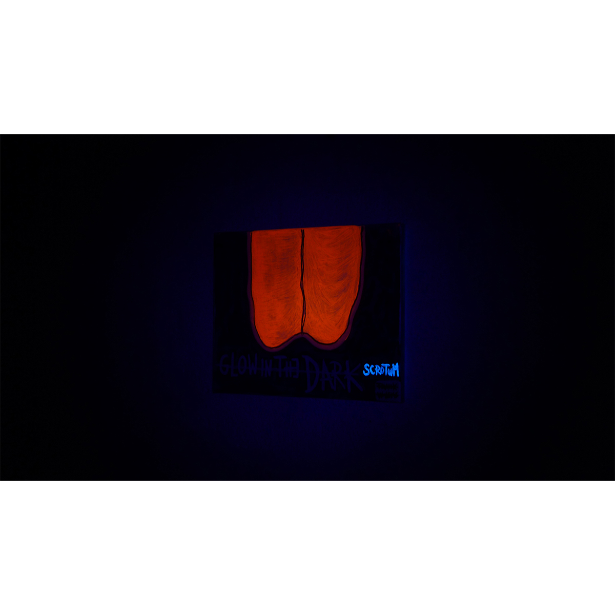 GLOW IN THE DARK SCROTUM (dark) 03 - Frank Willems
