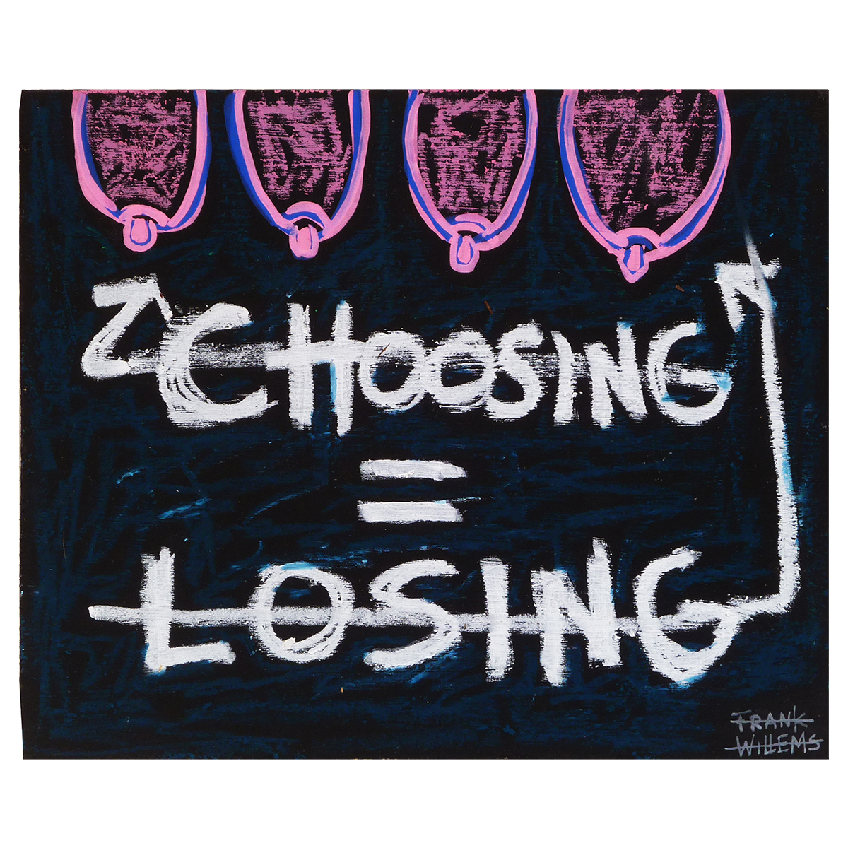 CHOOSING = LOSING - Frank Willems