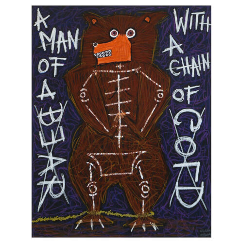 MAN OF A BEAR - Frank Willems