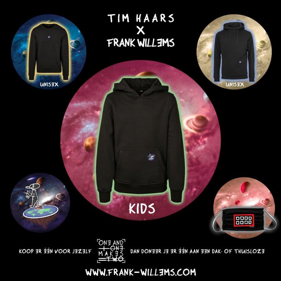 Instagram - ONE AND ONE MAKES TWO - TWENTYTWENTY - hoodie kids - Tim Haars x Frank Willems