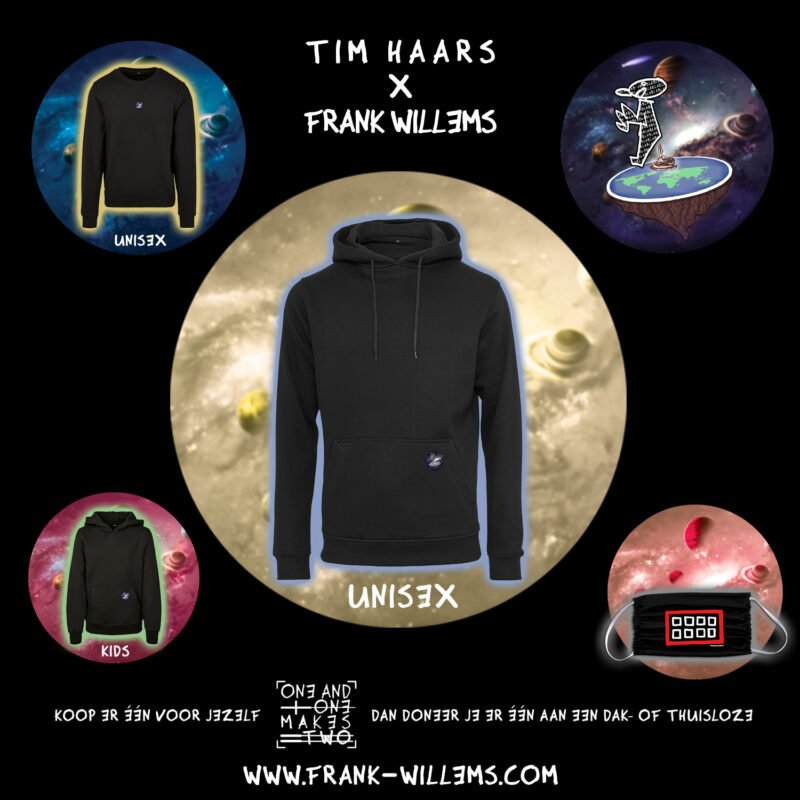 Instagram - ONE AND ONE MAKES TWO - TWENTYTWENTY - hoodie - Tim Haars x Frank Willems