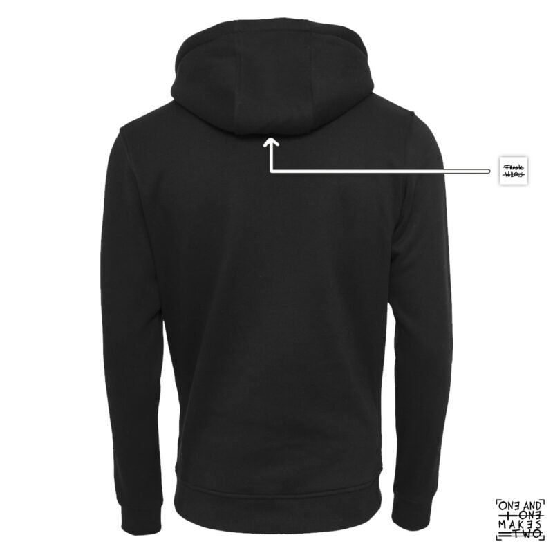 ONE AND ONE MAKES TWO - TWENTYNINETEEN - hoodie back - Frank Willems