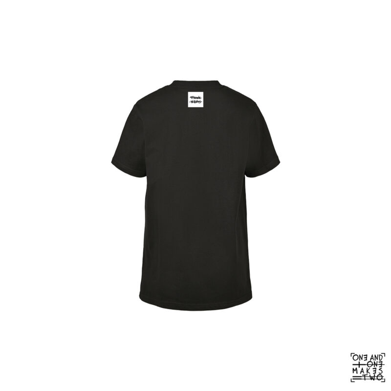 ONE AND ONE MAKES TWO - T-shirt Kids - TWENTYNINETEEN - BLK back - Frank Willems