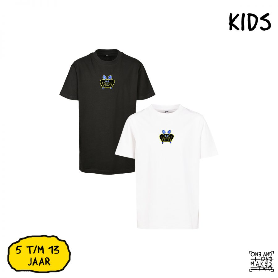 ONE AND ONE MAKES TWO - T-shirt Kids - TWENTYNINETEEN - BLK WHT - Frank Willems