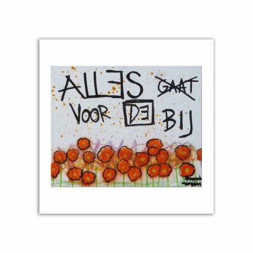 Limited prints - ALLES GAAT VOORBIJ - Frank Willems