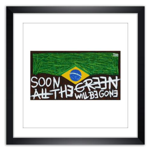 Limited prints - AMAZONES framed - Frank Willems