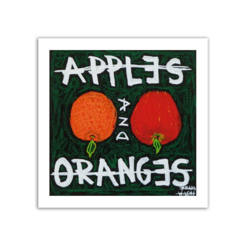 Limited prints - APPLES AND ORANGES - Frank Willems