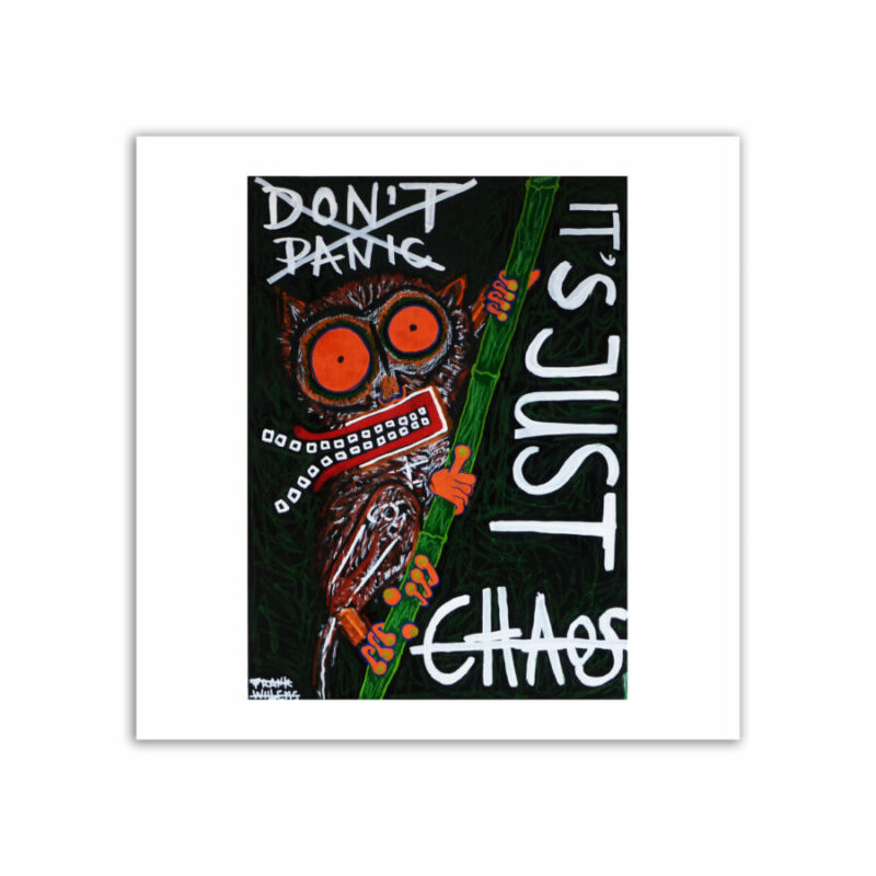 LIMITED EDT. ART PRINT - DON'T PANIC